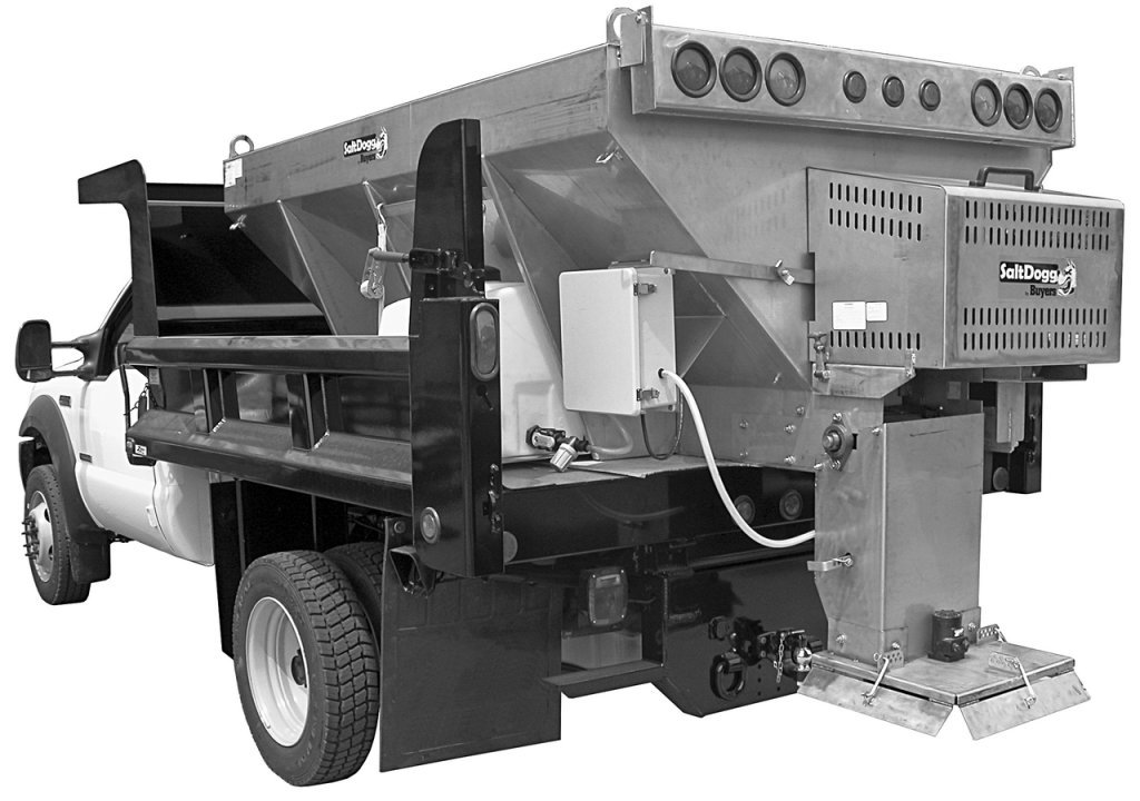 Municipal series Salt Spreaders