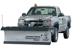 Lama da neve per pick up MD75